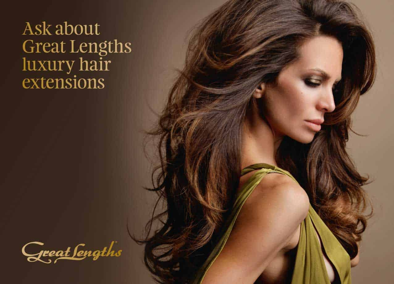 Hair Extension Length Options 17