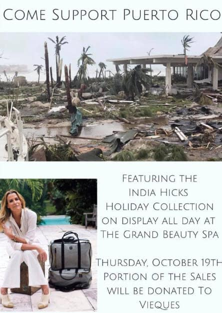 Come Support Puerto Rico at The Grand Beauty Spa