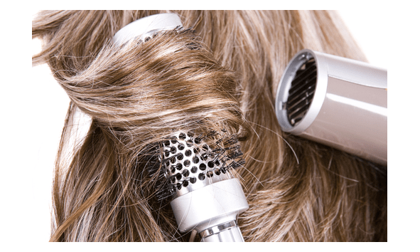 hair salon haircut and style blow dry