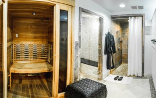 Grand Beauty Spa Ladies Locker Room and Suana