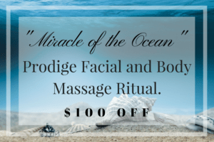 Miracle of the Ocean - Prodige Face & Body Massage Ritual
