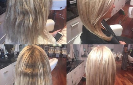 Harcut and Style - Fall blonde makeover