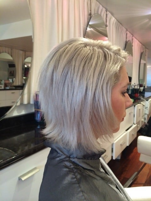Haircut and Style Before - Grand Beauty Hair Salon Tampa