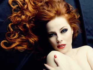 Tampa Hair Color & Highlights - inoa red hair color