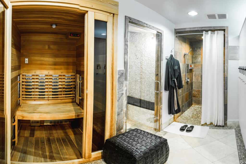 Grand Ladies Locker Room and Sauna