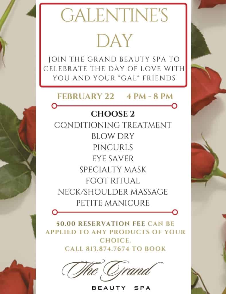 Galentine's Day - The Grand Beauty Spa