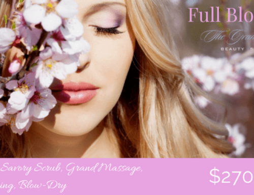 Finally, Spring is On. Get into Full Bloom at The Grand!