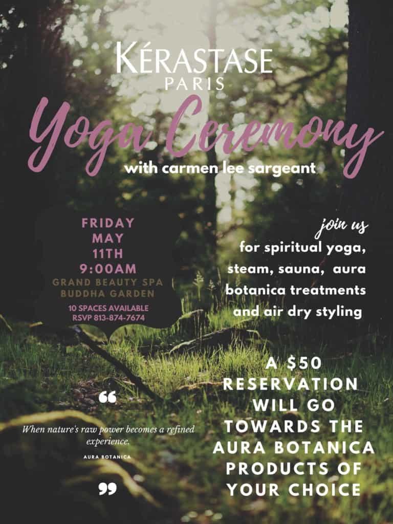 Kerastase Yoga Ceremony - The Grand Beauty Spa
