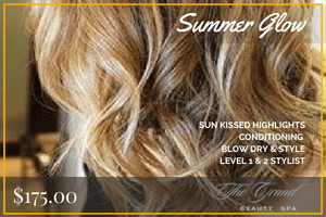 Summer Glow package   Grand Beauty Salon Tampa