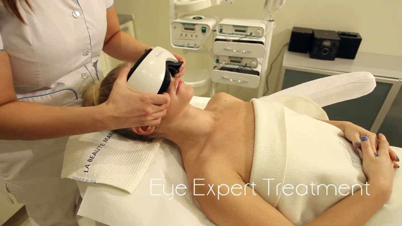 Thalgo Expert eye treatment at The Grand Beauty Spa