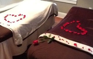 valentines day couples massage