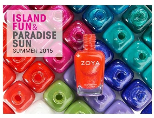 Introducing Zoya, our New Nail Polish Line at The Grand!