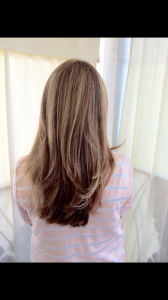 Balyage hair color 2