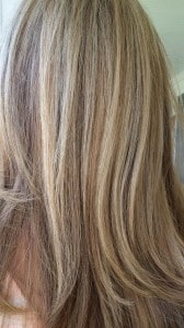 Balyage hair color 3