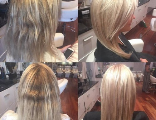 Hair Cut and Style – Fall blonde makeover
