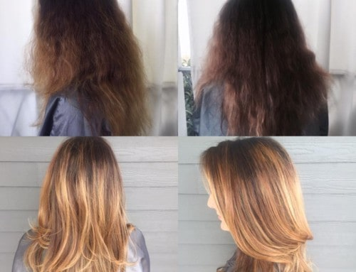 Hair Cut – Before and After