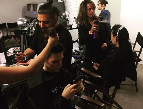 Carmen -Altuzarra models KerastaseUSA – NYC fashionweek