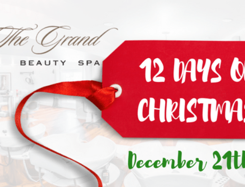 12 Days of Christmas – 10% Off All Retail at The Grand Beauty Spa