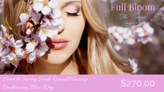 Get into Full Bloom - Grand Beauty Spa