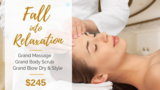 Fall into Relaxation pkg - Grand Beauty Spa