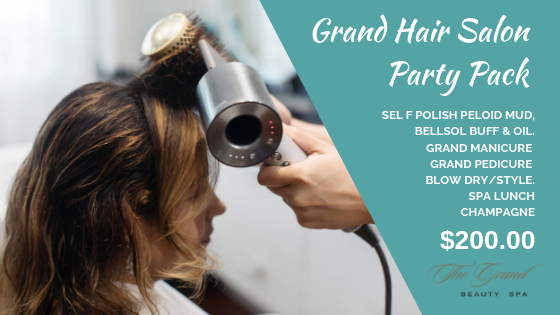 Grand Hair Salon Party Pack