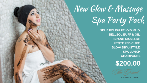 New Glow & Massage party pack - Grand Beauty Spa Tampa