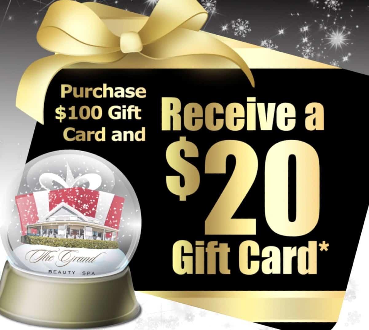Black Friday Gift Card | Grand Beauty Spa