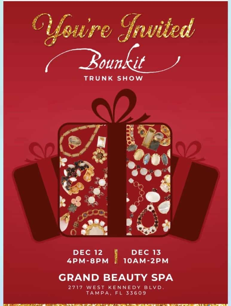 Grand Beauty Spa Event - Bounkit Trunk Show