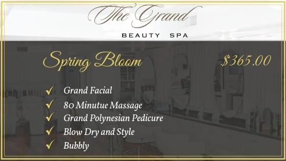 Spring Bloom package - Grand Beauty Spa