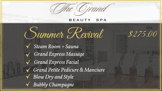 Summer Revival pkg - Grand Beauty Spa