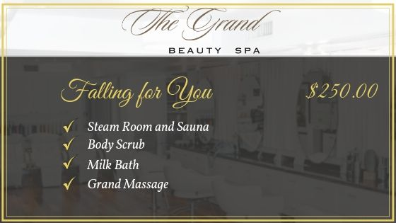 Falling for You - Grand Beauty Spa Fall Package