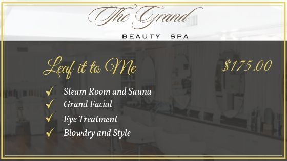 Leaf it to Me - Grand Beauty Spa Fall Package
