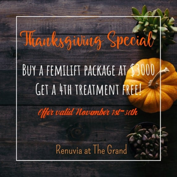 Thanksgiving Special - Grand Beauty Spa