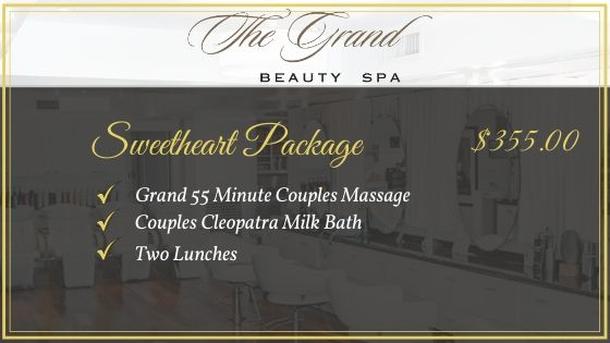 Sweetheart Pkg - Grand Beauty Spa