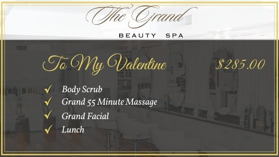 To My Valentine - Grand Beauty Spa