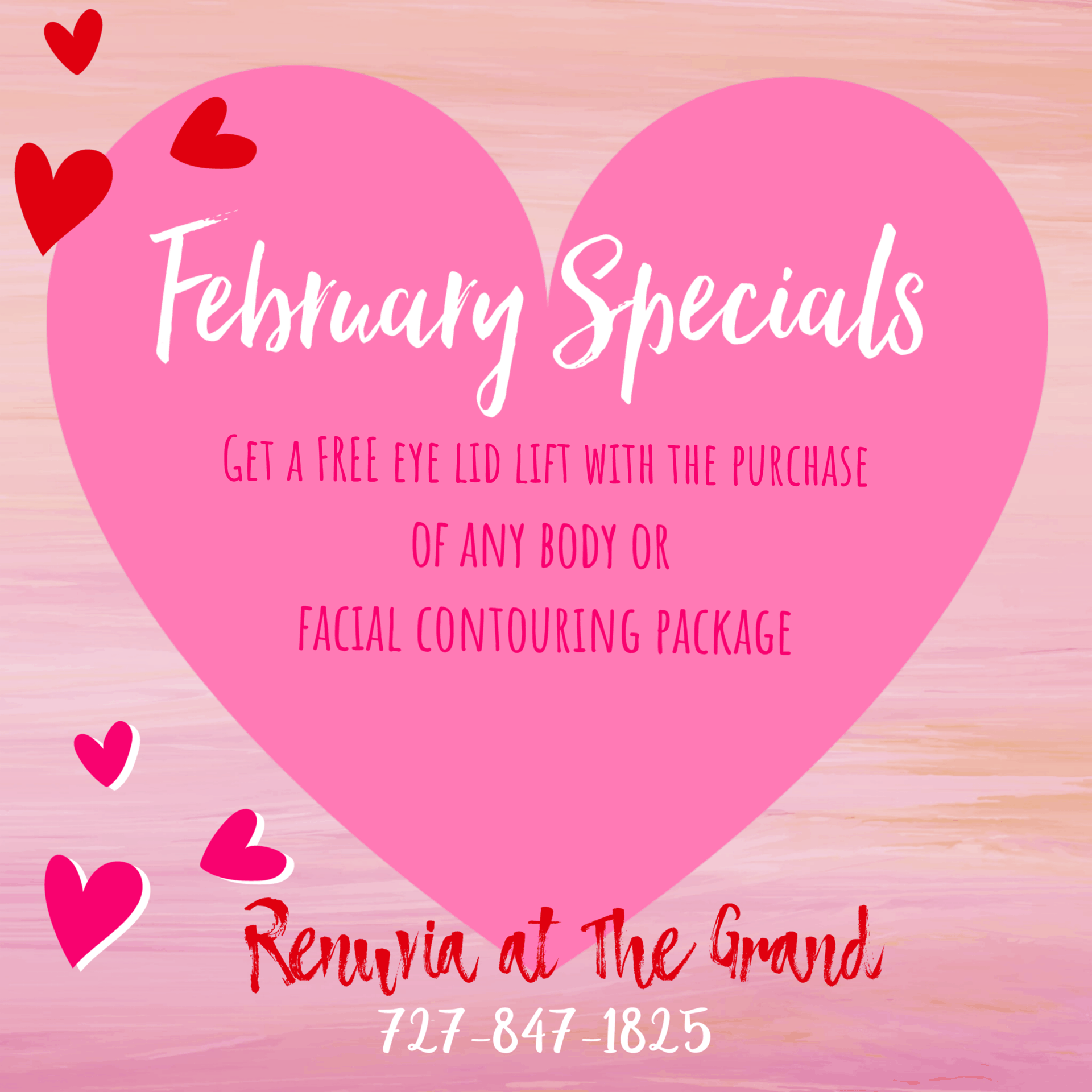 Renuvia at The Grand February Specials