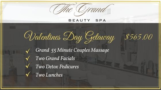 Valentines Getaway - Grand Beauty Spa